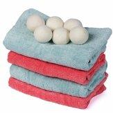 100%natürlicherStoffSchurwolleTrocknerBall wiederverwendbare Weichspüler Wäscherei