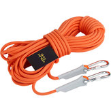 XINDA 9.5mm 12KN Outdoor Professional Hiking Rock Climbing Rope High Strength Safety Cord