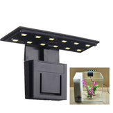 Ultradunne 5W 12 LED Aquarium Light Clip op Plant Grow Aquarium Lamp AC220V