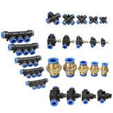 Raccordi pneumatici pneumatici Connettore per tubo aria / acqua e tubo Tutte le misure disponibili
