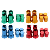 4Pcs TR413 Liga de alumínio Car Tire Wheel Tire Valve Stem Hex Caps And Sleeve Cover