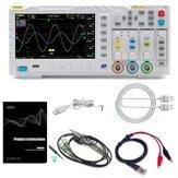 FNIRSI-1014D 7 palcový TFT LCD displej 2 v 1 dvoukanálový vstupní osciloskop s digitálním generátorem signálu