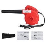 2 em 1 700W elétrico portátil com fio elétrico folha soprador aspirador de pó inflador