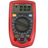 Uni-t ut33c palm dimensione digitale palmare multimetro dmm washington ac amperometro voltmetro ohm tester