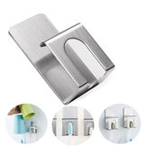 AUGIENB Paste Stainless Steel Toothbrush Holder