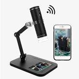 Microscopio digital WiFi HD 1080P Lupa electrónica portátil 1000X Cámara 8 LED Microscopio USB endoscopia Cámara Niños herramienta