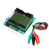 Probador de transistores de medidor ESR de condensador inductor de 3,7 V DIY MG328 probador multifunción