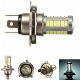 H4 5630 СМД 33 LED s 6000k 18w мотоцикл автомобиль авто противотуманные фары передние фары дневного света