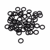 100st Black Rubber O Ring Propeller Protector Prop Saver 23mm * 3mm