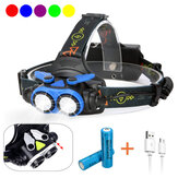 XANES® 7305A 4-Modes Zoomable USB Rechargebale LED Headlamp Outdoor Waterproof Head Torch For Camping Fishing