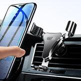 Torras W52 Schwerkraftverbindung Auto Lock Auto Air Vent Handyhalterung Halterung für iPhone 12 11 XR POCO X3 NFC-Geräte 4-7 Zoll