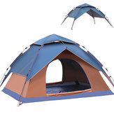 3-4 Person Fully Automatic Tent Camping Travel Picnic Rainproof UV Sunshade Canopy