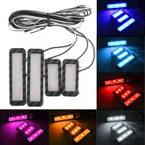 LED Car Atmosphere Lamp Kit Sound Control Interior Ambient Light Decoration