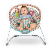 Baby Cradling Bouncer Seat Baby Swing szék vibráló és kivehető játékrúddal 0-12 hónapig újszülött