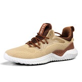 Men's Lightweight Sports Shoes Breathable Mesh Running Shoes Flying Woven Casual Sneakers