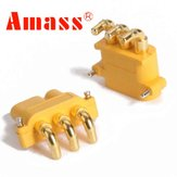 Amass MR30PW Connector Plug Female & Male 1 Pair