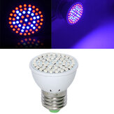 Full Spectrum E27 3W 60 LED Grow Light 41 Red 19 Blue для Растение Hydroponics AC220V