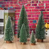 Mini árvore de Natal casa decoração do casamento suprimentos árvore artificial uma pequena árvore de pinheiro