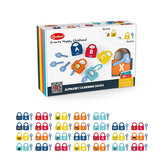 Onshine Early Education Unlock Toys Set Montessori Infant Early Education Alphanumeric Unlock Toys For 3-6 Year Old Children