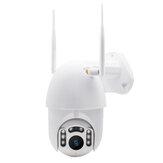 GUUDGO 8 LED 1080P Câmera à prova d'água sem fio Câmera IP ao ar livre Câmera sem fio WiFi Pan / Tilt Night Vision
