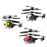 Dwi HW7001 3.5CH Mini Remote Control Helicopter Quadcopter for Children Outdoor Toys