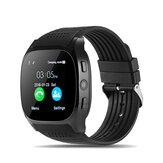 LYNWO T8 1,54 Pollici MTK6261D Bluetooth Pedometro Estensione Scheda TF GSM Smart Watch
