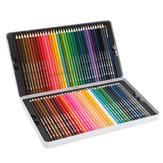 72色鉛筆アート描画Softコア鉛筆リード水溶性カラーペンセット文房具画材
