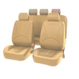 9pcs Front Row Full Set Seat Cover Car Accessories Universal Interior Cushion
