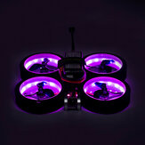 Diatone MXC Taycan Cinewhoop Part Colorful SW2812 LED Placa de luz e 4 PCS Duct RC Drone RC Drone FPV Racing Cinewhoop