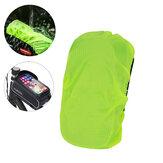 BIKIGHT دراجة الإطار الأمامي حقيبة غطاء المطر ضد للماء دراجة لمس شاشة واقي من الشمس قناع حقيبة حامي