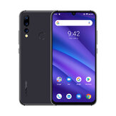 UMIDIGI A5 Pro Global Version 6,3 tommers FHD + Waterdro Display Android 9.0 4150mAh Triple Back-kameraer 4GB 32GB Helio P23 4G Smartphone