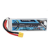 CODDAR 7.4V 3300mAh 2S 80C High Discharge Lipo Bateria XT60 Plug for RC Drone