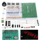 3Pcs DIY 6 Digital LED Electronic Clock Kit 9V-12V AT89C2051
