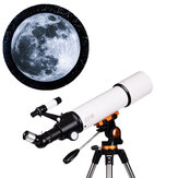 LUXUN LX-50080 20/50/60/150X Astronomical Telescope HD Zoom Refractive High Magnification Space Monocular