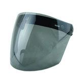 3 Snap Flip Up Visier Windschutzscheibe für Motorradhelm mit offenem Gesicht