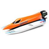Wltoys W915A 2.4G sem escova RC Barco de alta velocidade 45km / h F1 Brinquedos para veículos