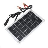 Bộ sạc pin năng lượng mặt trời 12V 7.5W Polysilicon Clip cho xe RV Thuyền ngoài trời