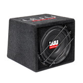 10 pulgadas 1200W Coche Subwoofer Audio Bass Caja 12V Power Amplificador Bluetooth Audio Reproductor de música Lavabo de doble presión Superbass Horn Conexiones de múltiples dispositivos