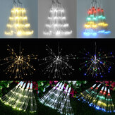 5in1 400 LED vuurwerk Starburst Fairy String Light Outdoor hangende feestlamp