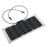 20W 550x240x3mm Monocrystalline Solar Panel With Mounting Holes