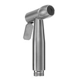Portable Toilet Bidet Sprayer Stainless Steel Hand Held Shattaf Bathroom Shower Head Tool