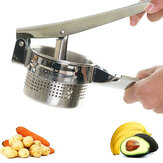 Potato Mashers Stainless Steel Puree Vegetable Garlic Presser Home Kitchen Tools Accessory