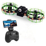 XMR / C M3 Air Knight Mini Com Câmera de 2MP 8 Mins Flight Time Sensor RC Drone Quadricóptero