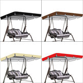 2100D Oxford Cloth Swing Top Cover Swing Awning Waterproof Sun Protection Canopy Outdoor Garden Shade Canopy