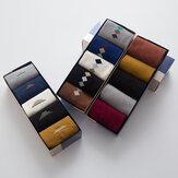 5 sztuk męskie bawełniane jednolity kolor diamentowy wzór w paski na co dzień sportowe na zewnątrz antypoślizgowe skarpetki
