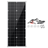 30w Monocrystalline Flexible Solar Panel with USB Port Built-in Short Circuit Protection