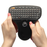 N5901 2.4GHz Sem fio Mini Keyboard TrAckball Air Mouse