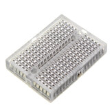 Mini Breadboard Protoboard DIY Kit Universal Transparent Solderless SYB-170 Breadboard 170Tie-points Prototype Boards 35X47MM