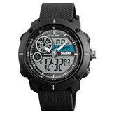 SKMEI1361БудильникхронографDualДисплей Мужские цифровые часы