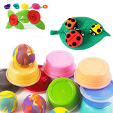 24 Bright Colors Carton Installed Super Light Hand Clay Slime Educational Toys